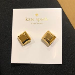 NWT Kate Spade Big Dipper gold earrings